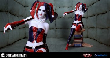 Harley Quinn is Hitting the Books in New Variant Resin Statue