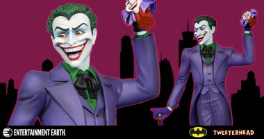 The Joker Is All Smiles in New Maquette Statue