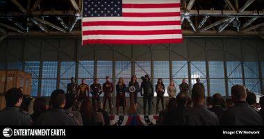 DCTV Crossover Heroes v Aliens