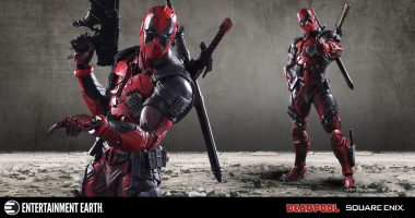 Deadpool Is Extra Cheeky as This Play Arts Kai Figure
