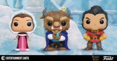 Tell a Tale as Old as Time with Beauty and the Beast Funko Pop! Vinyl Figures
