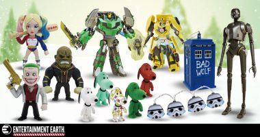 The Entertainment Earth Holiday Gift Guide Will Fill Your Shelf with Joy