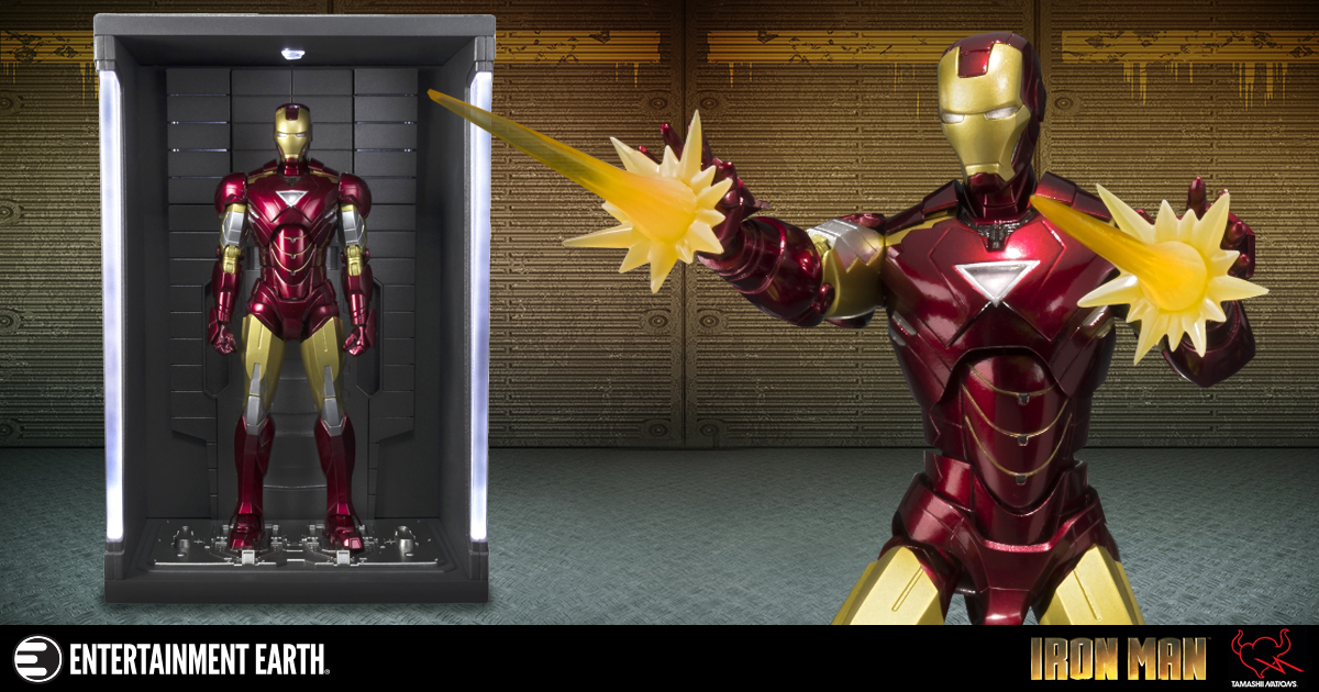 SH Figuarts Iron Man Mark VI Hall of Armor