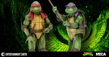 Cowabunga! These New 1:4 Scale Teenage Mutant Ninja Turtle Action Figures Are Far Out!