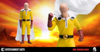 This Saitama Action Figure Has a Surefire Recipe for Superhero Sucess