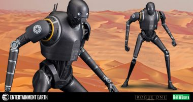 The Rebel Droid K-2SO Is Ready for His Latest Mission