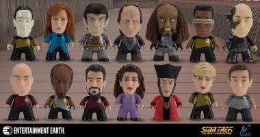 Mini-Titans Star Trek: The Next Generation Figures Cast a Long Shadow