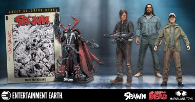 Giveaway! Win McFarlane Toys items from Spawn and The Walking Dead