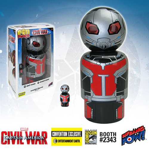 Ant-Man and Giant Man Pin Mate Wooden Figure Set of 2 - Convention Exclusive