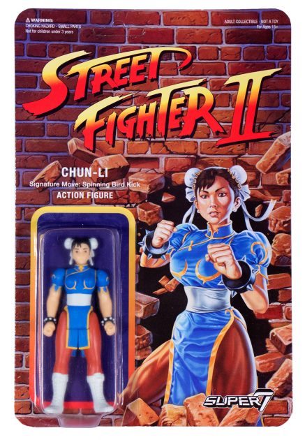 Street Fighter II Retro Action Figures Chun Li