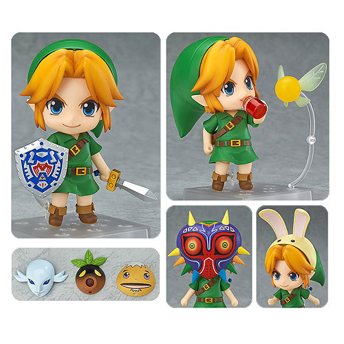 The Legend of Zelda: Majora's Mask Link Nendoroid Action Figure