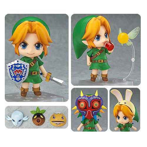 The Legend of Zelda: Majora's Mask Link Nendoroid Action Figure