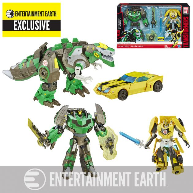 Transformers Entertainment Earth Exclusive