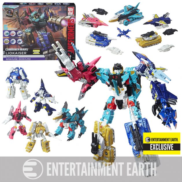 The Transformers Generations Platinum Edition Combiner Wars Liokaiser - Entertainment Earth Exclusive