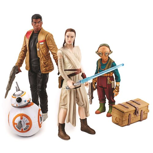 Star Wars: The Force Awakens Takodana Encounter Action Figures