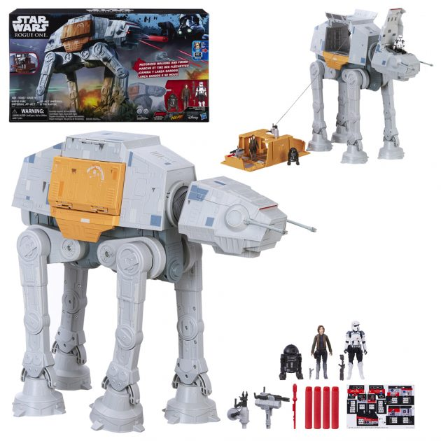 Star Wars Rogue One Rapid Fire Imperial AT-ACT Vehicle