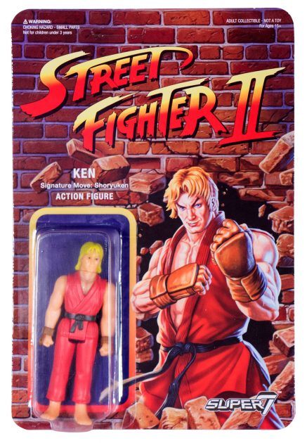Street Fighter II Retro Action Figures Ken