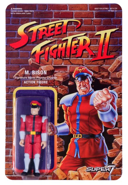 Street Fighter II Retro Action Figures M. Bison