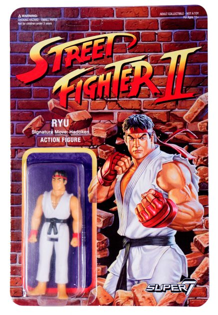 Street Fighter II Retro Action Figures Ryu