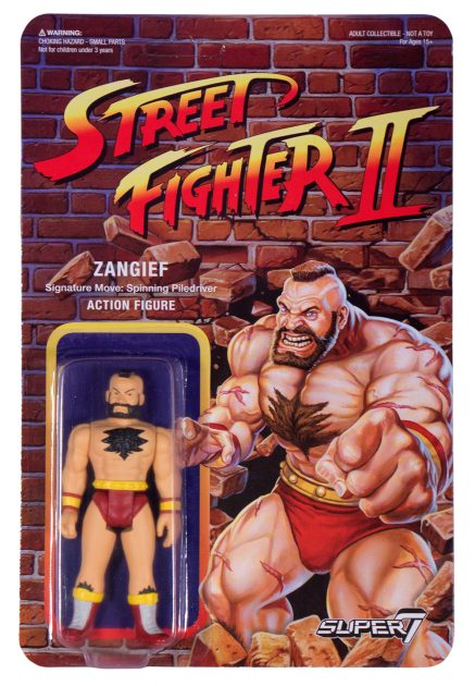 Street Fighter II Retro Action Figures Zangief