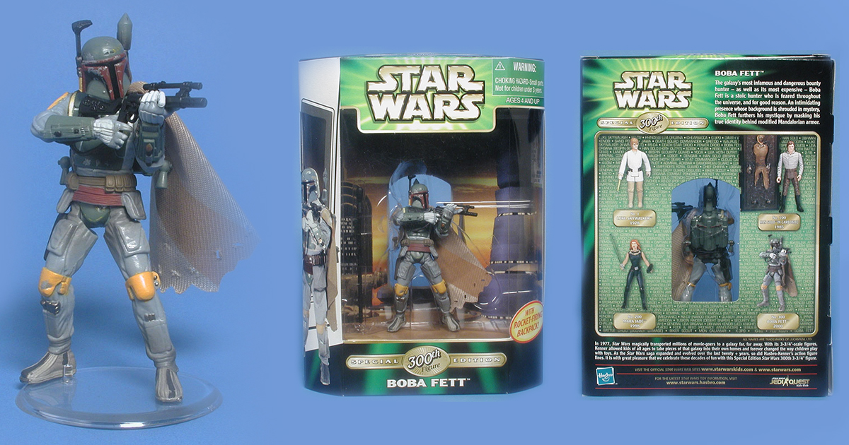 300th Boba Fett Figure