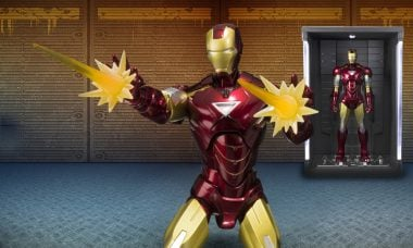 Display Your Mark VI Iron Man Suit in This Fabulous Hall of Armor