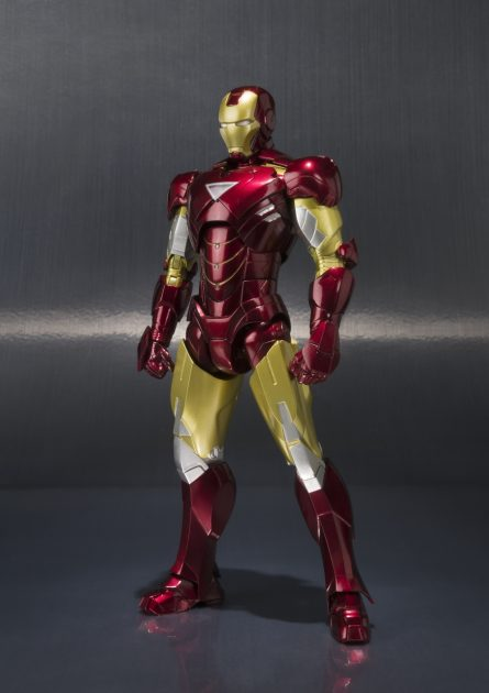 Iron Man Mark VI and Hall of Armor SH Figuarts Set