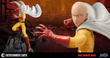 Saitama Is Prepared to Punish with One Punch of Pain as This Powerful Statue