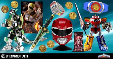 Power Rangers Collectibles to Help You Get Excited about Their Return