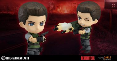 Face the Zombie Horde with This Chris Redfield Nendoroid Action Figure