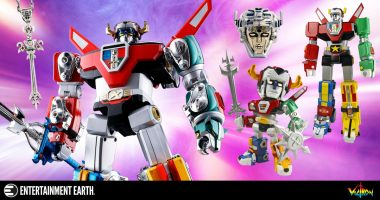 Celebrate the Return of Voltron with Our Top Voltron Collectibles