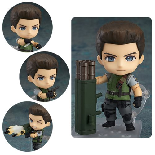Resident Evil Chris Redfield Nendoroid Action Figure