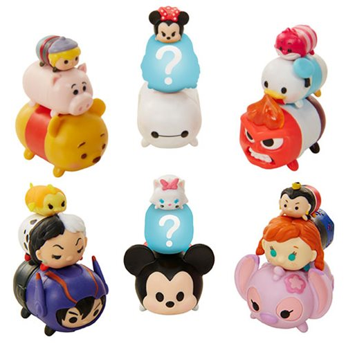 Disney Tsum Tsum 9-Pack Mini-Figures Wave 3 Case