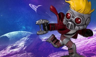 Star-Lord Gets Animated in New Gentle Giant Statue