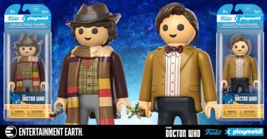 Jelly Babies & Geronimo! Funko and Playmobil Doctor Who Action Figures