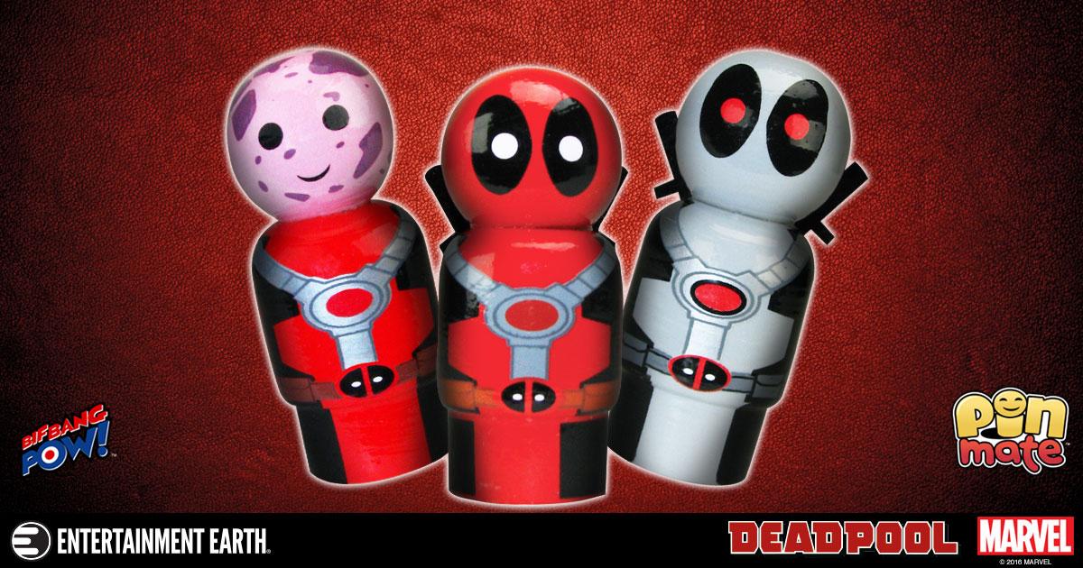 Big Bang Pow! Deadpool Pin Mate Figures