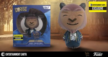 Be Our Guest with the Beast Flocked Dorbz Vinyl Figure – Entertainment Earth Exclusive!