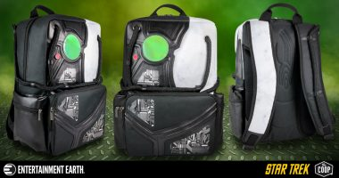The next Best Thing to Being a Borg! The Star Trek: The Next Generation Borg Backpack