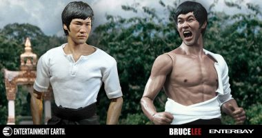 Get Ready for Action with this Real Masterpiece Bruce Lee Action Figure