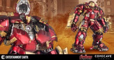 Time to Suit Up with This Iron Man Hulkbuster Die-Cast Metal Action Figure