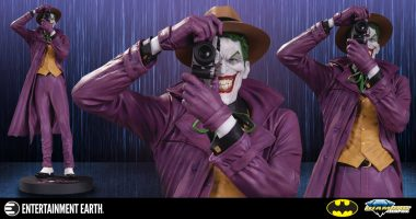 This Joker Statue Wants You to Smile for The Camera