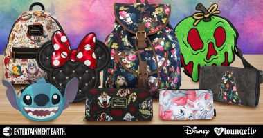 Take the Magic with You Wherever You Go Thanks to These Loungefly Disney Products