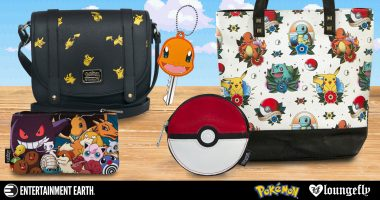 You Gotta Catch All of These Loungefly Pokémon Items