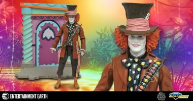 Travel to Wonderland with This Mad Hatter Action Figure