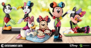 Celebrate Polka Dot Day with These Minnie Mouse Statues