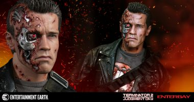The T-800 Might Be Battle Damaged, but This Scale Figure Is Still Beautiful