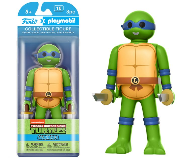 Teenage Mutant Ninja Turtles Leonardo 6-Inch Playmobil Action Figure