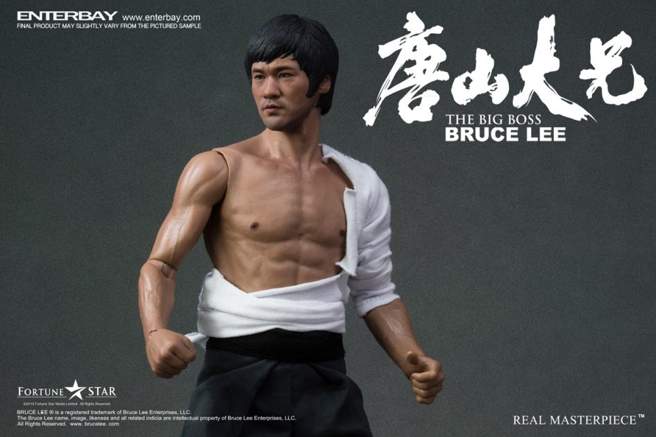 Bruce Lee The Big Boss Real Masterpiece 1:6 Scale Action Figure