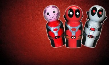 Big Bang Pow! Deadpool Pin Mate Figures