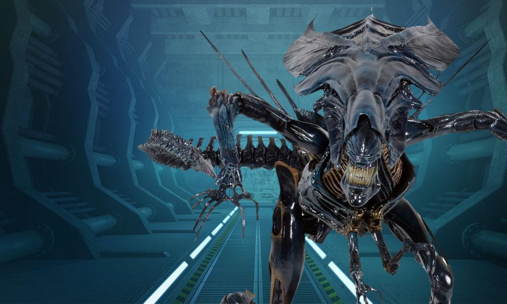 Aliens Xenomorph Queen Ultra-Deluxe Action Figure